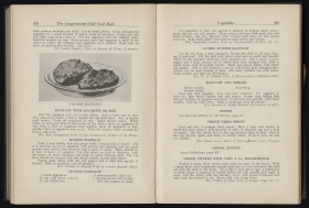 Page Spread from the Congressional Club Cook Book