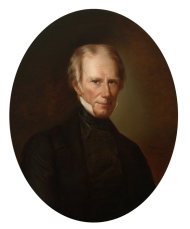 Henry Clay's Speaker portrait was the first one donated to the House of Representatives. He served six terms as Speaker, more than any other Member at the time.