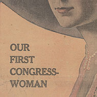 The First Women in Congress