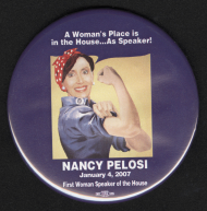 First Woman Speaker of the House Button