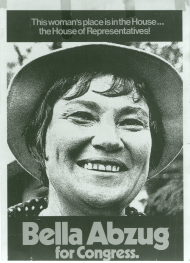 Bella Abzug Campaign Poster