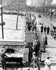 Bread Line During the Great Depression