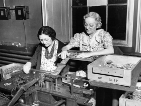 Women Working on an Assembly Line