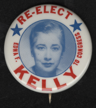 Edna Flannery Kelly Lapel Pin