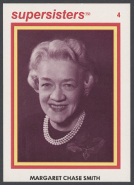Margaret Chase Smith Supersisters Card