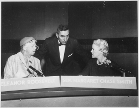 Eleanor Roosevelt and Margaret Chase Smith