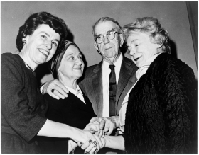 Martha Griffiths, May Craig, Howard W. Smith, and Katharine St. George
