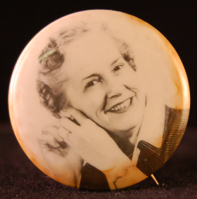 Edith Starrett Green Lapel Pin