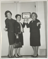 Charlotte Reid, Patsy Mink, and Catherine May