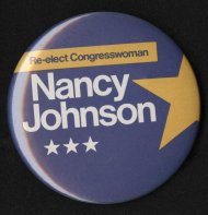 Nancy Lee Johnson Lapel Pin