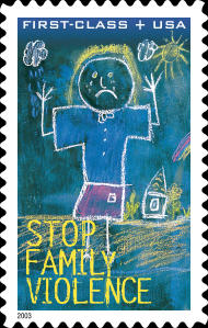 Stop Family Violence Stamp