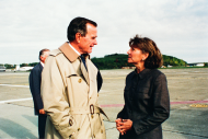 <i>President Bush and Congresswoman Kelly</i>