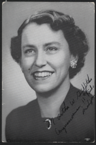 "Martha Griffiths, known as the ""Mother of the ERA,"" served as a Representative from the state of Michigan for 20 years."