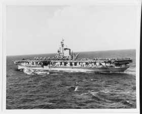 The USS<i> Midway</i> was one of the Navy's longest serving aircraft carriers, active from 1945 until 1992. In 1949, the ship was U.S. military's lead aircraft carrier and the largest vessel in the world—too large to fit through the Panama Canal.