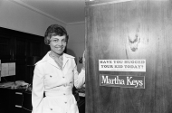 <i>Congresswoman Martha Keys</i>