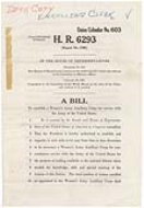 H.R. 6293, A bill to establish a Women's Army Auxiliary Corps for service with the Army of the United States