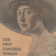 The First Congresswoman's First Day: April 2, 1917