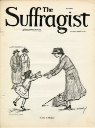 Cover of The Suffragist