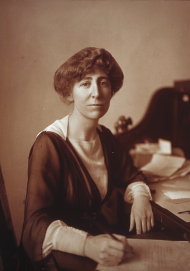 Jeannette Rankin won election to the At-Large seat from Montana in 1916, the first woman elected to Congress.