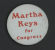 <i>Martha Elizabeth Keys Lapel Pin</i>