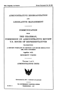 The Obey Commission Report