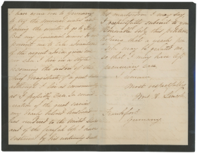 Petition of Mary Todd Lincoln, January 26, 1869