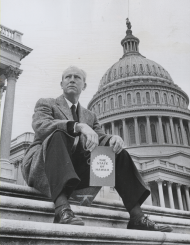 John Anthony Burns on the Capitol Steps