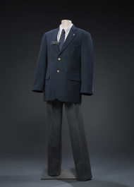 This uniform was the final iteration of the House Page dress code, from the 1980s through 2011.