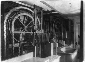 Elevator Machinery in the Capitol