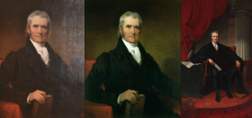 Three Portraits of John Marshall, 1831–1880