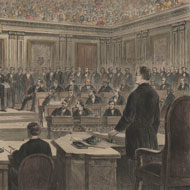 Formal Notice of the Impeachment of Andrew Johnson