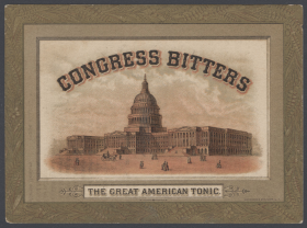 Congress Bitters Advertisement
