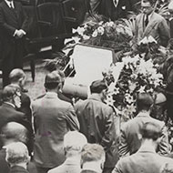 The Funeral of Edward W. Pou