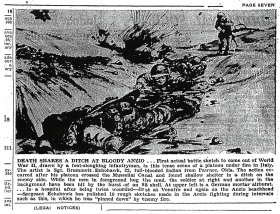 Death Shares a Ditch at Bloody Anzio