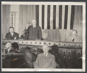 The House Meets in the Ways and Means Committee Hearing Room