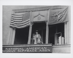 Jeannette Rankin and Carrie Chapman Catt
