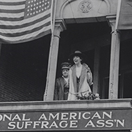 Jeannette Rankin and the Women's Suffrage Amendment