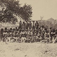 Group of Paiutes
