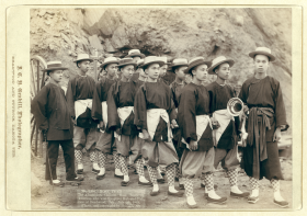 Chinese Men in Deadwood, Dakota Territory