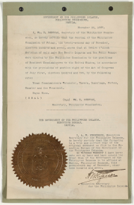 The Philippines, 1898–1946 | US House of Representatives