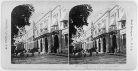 Manila Headquarters of Major General Arthur MacArthur Jr.