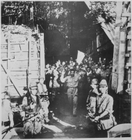 American Troops Surrender to Japanese Forces at Corregidor Island