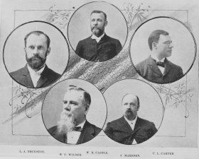 Members of the Annexation Special Commission