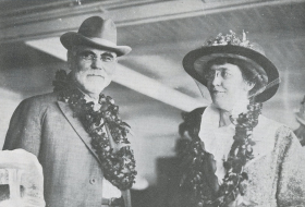 James R. Mann and His Wife