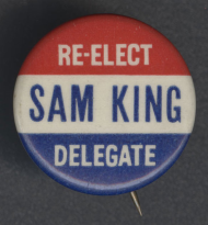 Samuel Wilder King Lapel Pin