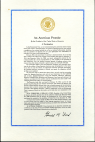 """An American Promise"" Proclamation"