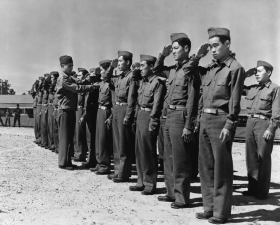 442nd Regimental Combat Team Training in 1943