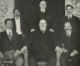 Resident Commissioners from the Philippines with William H. Taft