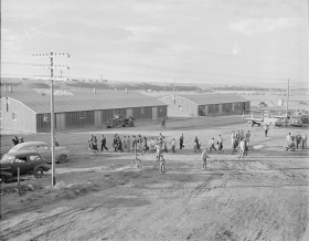 Japanese Americans Arrive at Heard Mountain Relocation Center