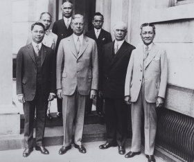 Dwight Davis and Members of the Special Philippine Mission